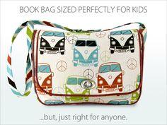 Kid's Vintage Book Bag | Sew4Home