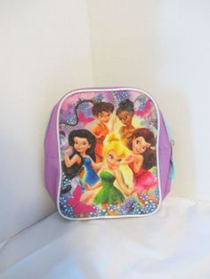 Princess Backpack SMALL Purple toddler size