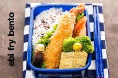Ebi Fry (Fried Shrimp) Bento