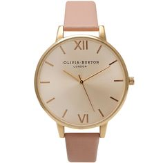 Olivia Burton Big Dial Dusty Pink Gold OB14BD31