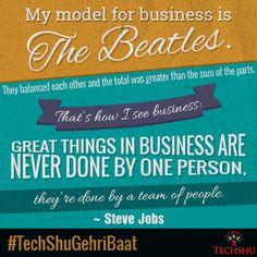 Greater Than, Steve Jobs, The Beatles, A Team, Happiness, Happy, Bonheur, Feeling Happy, Ser Feliz