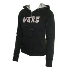 Vans Ladies Vans Zip Apps Hoody. Black Check Out Vans New Zip Apps Hoody. Perfect For The Summer And All The Seasons That Follow. The Popular And Classic Vans Script Is Always A Hit. Features:The Vans Zip Apps Hoody Is Made From 80% Cotton http://www.comparestoreprices.co.uk/fashion-clothing/vans-ladies-vans-zip-apps-hoody-black.asp