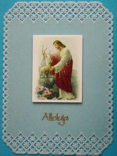 Kartka z wykorzystaniem obrazka. Wielkanoc 2016 Holi, Heaven, Frame, Cards, Home Decor, Craft Cards, Sky, Homemade Home Decor, Holi Celebration