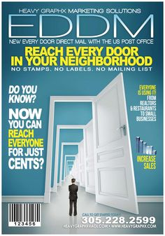 , Managers, Owners and Marketing Directors, did you know about the new system where you can find the customers who matter most. Every Door Direct Mail from the U.S. Postal Service is designed to reach every home, every address, every time. Just pick your delivery routes Call us today to get started. Heavy Graphx Printing Solutions 305-228-2599 / 1-800-51-Heavy    check out! Commercial click on link!!  http://youtu.be/AOsKPG8opkY