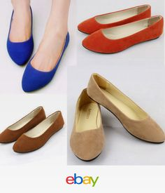 08d23f5e23b Women Casual Slip On Suede Boat Work Flat Loafer Shoes Plus Size Size 10 41