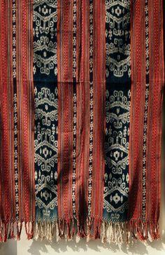 Ikat from Timor-Timur, Timor, Indonesia