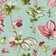 Carey Lind Designs WHIMSICAL GARDEN WT4542 Wallpaper