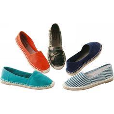 Women's comfortable casual espadrille shoes
