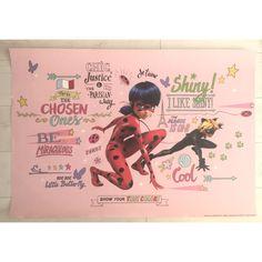 Katicabogár, Miraculous rózsaszín poszter Miraculous, True Colors, Baseball Cards, Cool Stuff, Movie Posters, Art, Art Background, Film Poster, Kunst