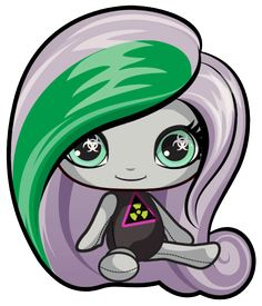 Moanica D'kay. Monster High Mini. Beach Ghouls