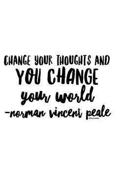// Change your world