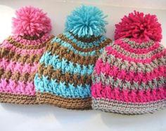 Crochet Hat Pattern Northern Lights Pom by NorthernKnotsCanada