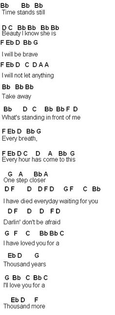 Flute Sheet Music A Thousand Years Songs I Love Pinterest