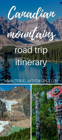 Are you planning a road trip through the Canadian Rockies and dont know where to start? Our detailed suggested itinerary includes all the incredible places you can visit budget & road trip tips. Things to do in Canadian Rockies Calgary, Montreal, Yoho National Park, National Parks, Jasper National Park, Toronto, Western Canada, Canada Travel, Canada Trip