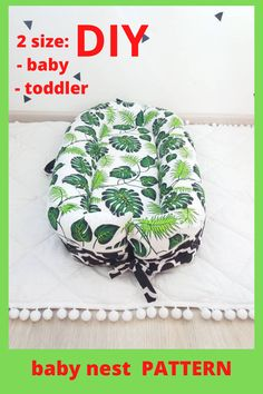Pattern for sewing a baby nest with a removable mattress. Two size: - baby - toddler The cover is removble mattress. A cozy baby nest made of eco-friendly and hypoallergenic materials will create feeling of the kid's safety and comfort. Baby Nest Pattern, Snuggle Nest, Cot Sheets, Preparing For Baby, Baby Birth, Simplicity Patterns, Baby Shower Gifts, Mattress, Sewing Patterns
