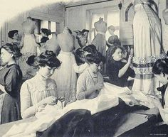Les-Createurs-de-la-mode-1910. These beautiful images from Les Createurs de la Mode bring back to life the women who both made and wore the Paris fashions of 1910.
