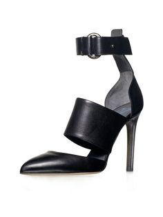 Leather Banded Pump by Reed Krakoff on Gilt.com