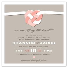celtic wedding invitations | wedding invitations - Tying the Celtic Knot by Casey Fritz