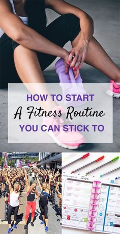 How To Start A Fitness Routine You Can Stick To - Society19