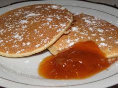 Amerikai palacsinta zabpehelylisztből Fitt, Pancakes, Drinks, Breakfast, Recipes, Drinking, Morning Coffee, Beverages, Crepes