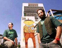 OSGÊMEOS - A arte dos irmãos grafiteiros