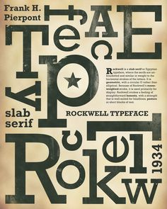 1000+ images about Rockwell lettertype on Pinterest ...