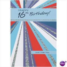 This Is A Birthday Card For 16 Year Old Boy Or Girl 16th Th Sixteen 5051138000573 On EBid United Kingdom