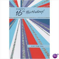 This Is A Birthday Card For 16 Year Old Boy Or Girl 16th Th Sixteen 5051138000573 On EBid United Kingdom