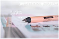 Manga Brows Rich Brown/Dark Brown Neve Cosmetics Swatch