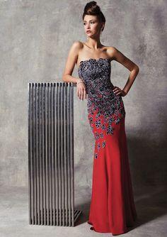 Stephen Yearick Evening Gown 9923