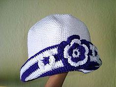 Detské čiapky - Bielo -fialový klobúčik - 1175721