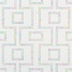 #Bisazza #Decori 2x2 cm Labirinto Bianco | #Porcelain stoneware | on #bathroom39.com at 489 Euro/box | #mosaic #bathroom #kitchen