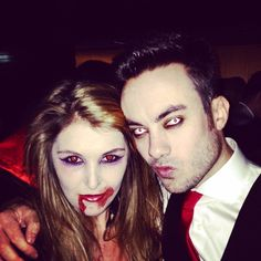 Pin for Later: 120+ Easy Couples Costumes You Can DIY in No Time Vampires