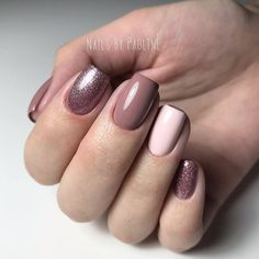Image about pink in Nails / Nail Polish / Vernis / Manicure by Mouna DramaQueen Shellac Nails, Matte Nails, Pink Nails, My Nails, Nail Polish, Square Nail Designs, Short Nail Designs, Square Acrylic Nails, Acrylic Nail Designs