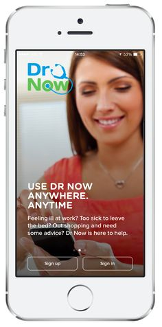 Dr Now enables you to speak to a doctor when you need to