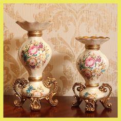 fox rush wire Tatiana retro resin Candlestick ornaments romantic restaurant candlelight dinner Home Furnishing jewelry