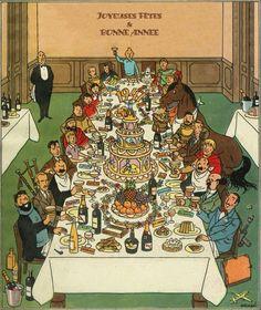Joyeusses fêtes et bonne année 1947