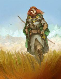 Barding Wanderer by *JonHodgson