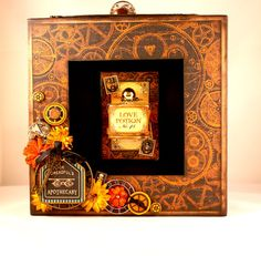 Graphic 45 Steampunk Spells Shadow Box