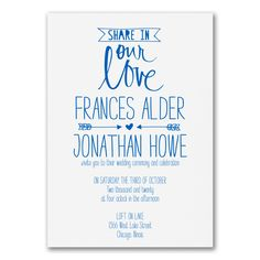 Romantic Point - Invitation. Available at Persnickety Invitation Studio.