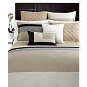 CLOSEOUT! Hotel Collection Bedding, Panel Stripe Full/Queen Duvet Cover