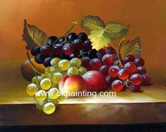 Hand-painted Fruits Classic fruits oil paintings for wholesale