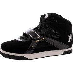 Fila - Men's UnderDog 2 Mid Fashion Sneakers - Black