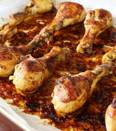 Easy Weeknight Paleo Chicken (Best Drumstick Recipe EVER). http://everclevermom.com/2014/05/easy-weeknight-paleo-chicken-best-drumstick-recipe-ever/