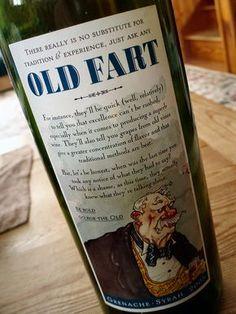 Old Fart wine
