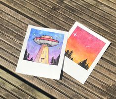 Decided to try painting watercolour Polaroid's during quarantine. Let me know what you think :) : Watercolor Cute Canvas Paintings, Easy Canvas Art, Small Canvas Art, Easy Canvas Painting, Mini Canvas Art, Small Paintings, Watercolor Paintings For Beginners, Watercolor Drawing, Watercolor Canvas