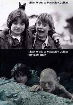 lord of the rings humor. elijah wood and macaulay culkin. Memes Humor, Funny Memes, Jokes, Videos Funny, Quotes Sherlock, Macaulay Culkin, Elijah Wood, My Sun And Stars, Just For Laughs