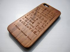 wooden iphone 5 cases with sturdy rubber by CreativeUseofTech, $39.00 #lasercut #iphone #Iphone5 #Wood #case #woodencase #cover #Iphonecase