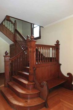 1900 Victorian staircase