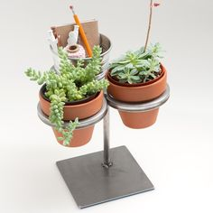 desk tidy and plant holder, if you're not great at keeping plants - why not get a cacti as they don't need regular watering